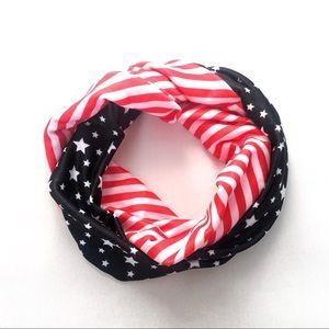 Accessories - Stars & stripes fabric headband